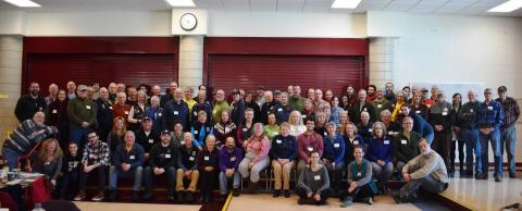 Group photo AMC Berkshire Chapter Volunteer Appreciation Day